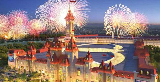 Собянин рассказал о ходе строительства тематического парка «Остров мечты». Фото: mos.ru