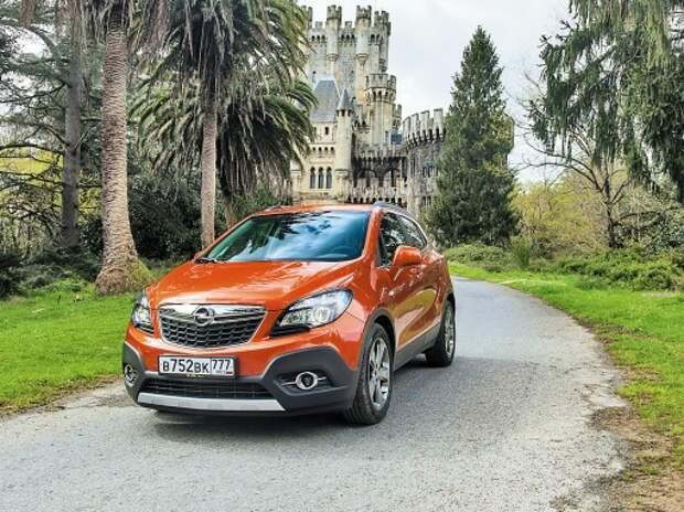 С Opel Mokka по Бискайщине
