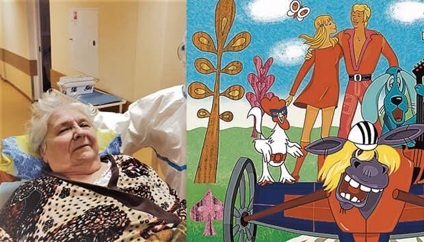 «Я была в Чистилище»: 87-летняя режиссер советских мультфильмов о коронавирусе