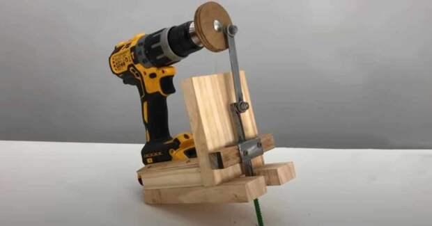 Идея для мастерской: как сделать электролобзик из шуруповерта