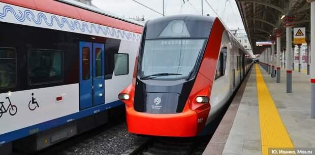На МЦД-2 к «Волоколамской» и «Пенягино» поезда следуют с задержками