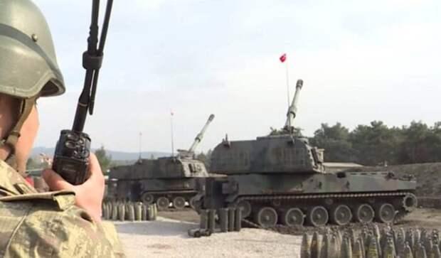 Турецкая артиллерия нанесла серию ударов по северным районам Сирии