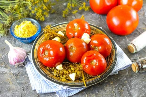 Необычайно вкусные квашеные помидоры