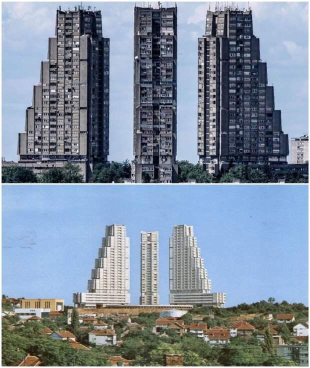 Жилой комплекс «Рудо» стал своеобразными воротами столицы Сербии (Белград).
