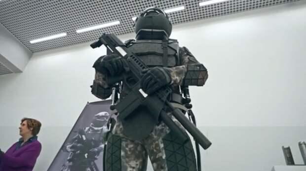 Российские боевые экзоскелеты «готовы к бою»