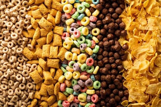 Продукты, вызывающие сильную зависимость, и те, к которым нет привыкания