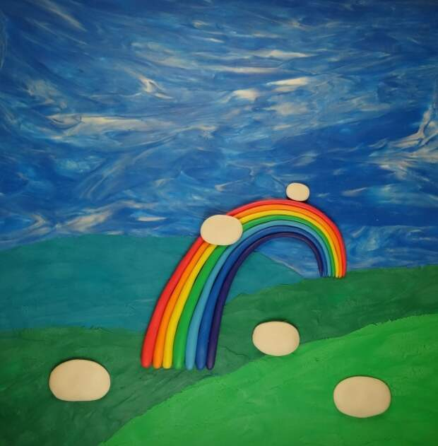 рисуем с детьми пластилином на Лепим сами
