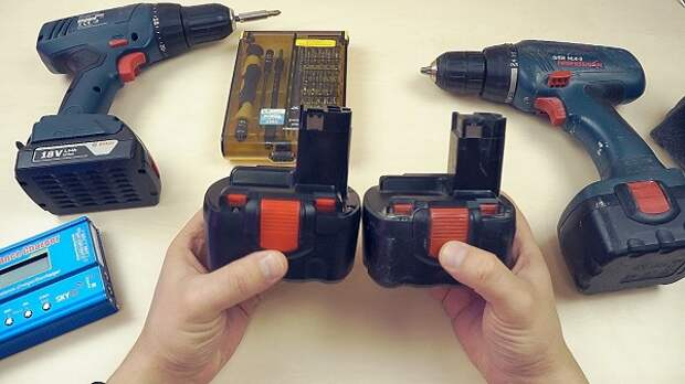 Как просто восстановить аккумулятор шуруповерта
