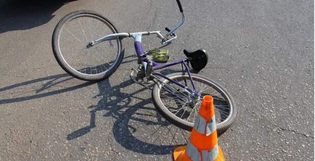 Водитель сбил девочку-велосипедистку в Тверской области