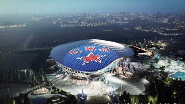 От Гагарина – до бозона Хиггса. В Санкт-Петербурге представлены проекты ледовой арены на месте снесенного СКК
