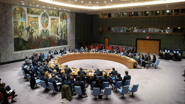 Заседание Совета Безопасности ООН - РИА Новости, 1920, 06.10.2020