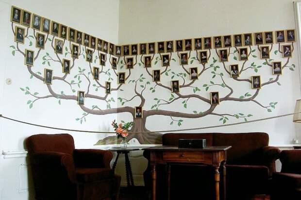 Необычное семейное древо