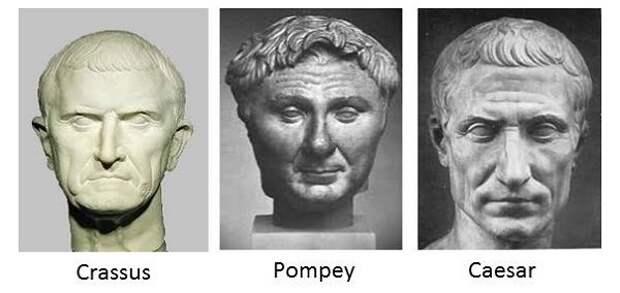 Первый римский триумвират.