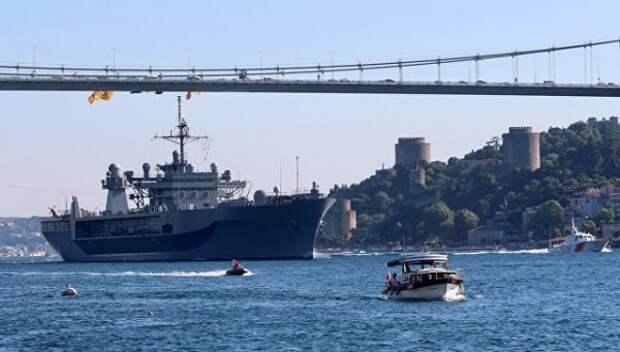 Флот США против Крымского моста