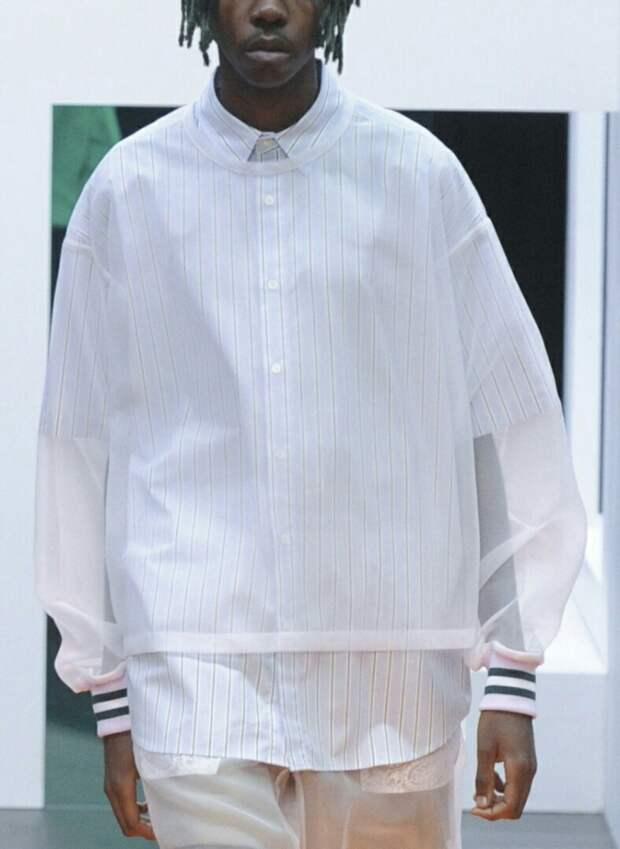 Прозрачность в мужской одежде