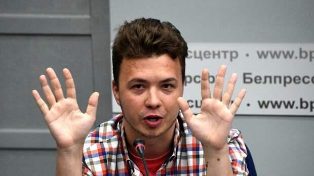 Протасевич признал вину Telegram-каналов в подстрекательстве протестов