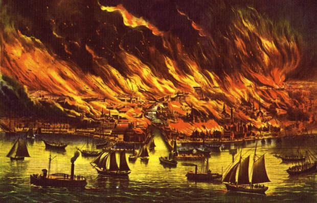 Великий чикагский пожар