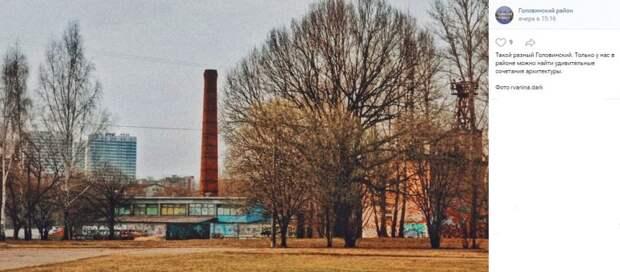 Фото дня: архитектурный «ландшафт» Головинского
