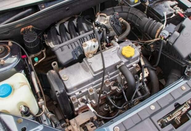 двигатель Лады Гранты 11186 (21116)
