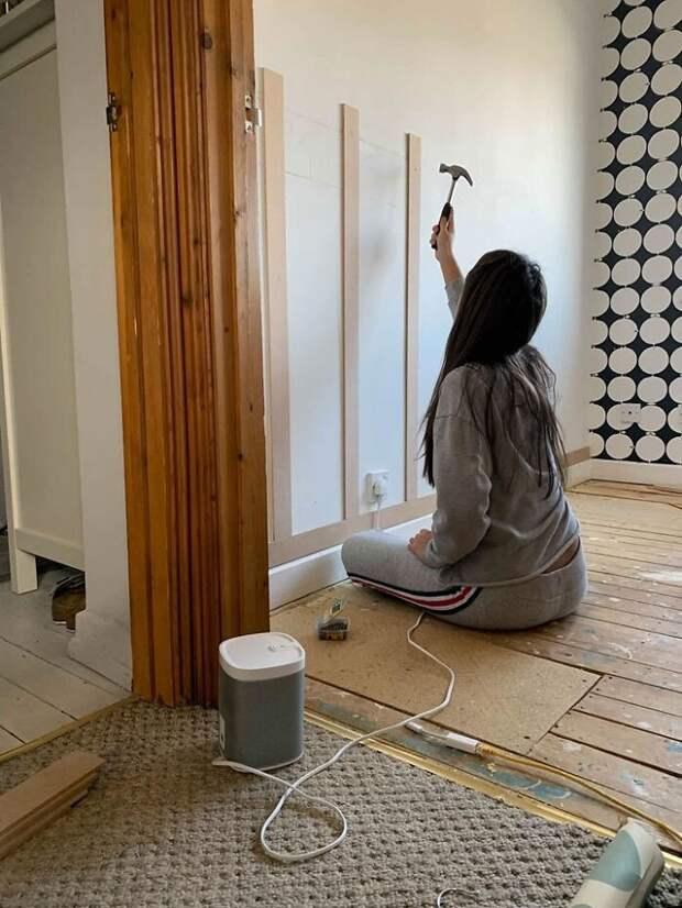 Мать разрешила 12-летней дочери сделать в доме ремонт - и поразилась результату