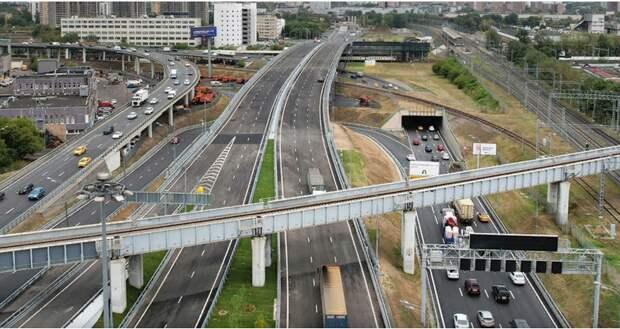 Новый путепровод через ж/д пути МЦД-2 должен улучшить транспортную обстановку в Марьине