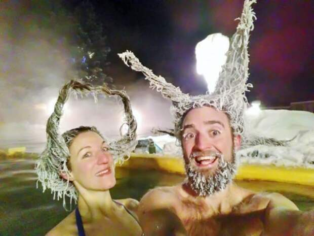 Подведены итоги очередного конкурса «замороженных волос»!