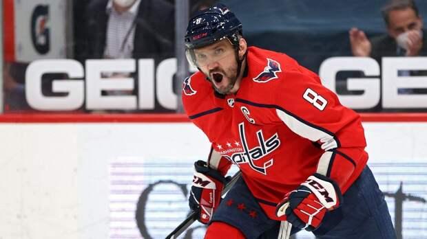 Овечкин вышел на 6-е место в истории НХЛ по голам в равных составах. Он повторил достижение Бретта Халла