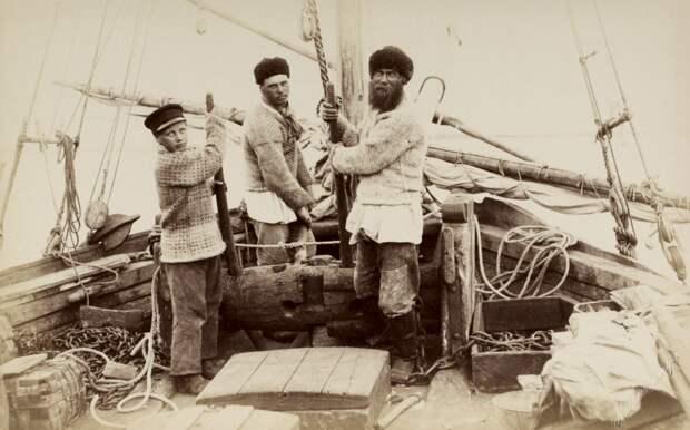 Как выглядели, что делали поморские зуйки: маленькие дети, промышляющие рыбу со взрослыми рыбаками