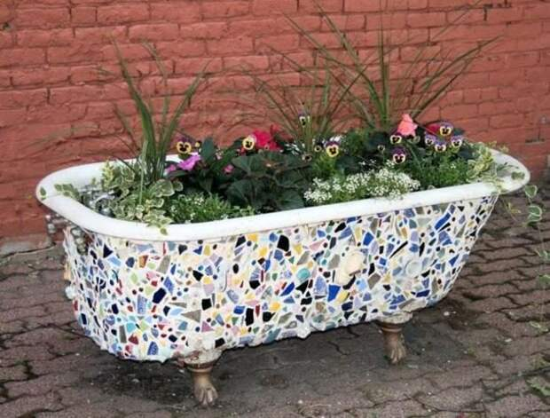 19 идей для декора сада, которые легко и быстро сделать собственноручно