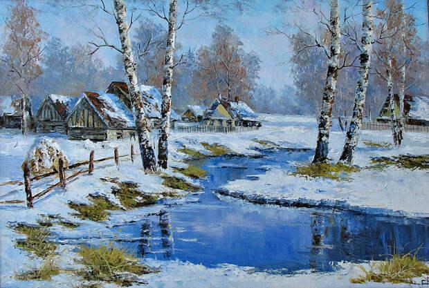 Евгений Синев.Весна