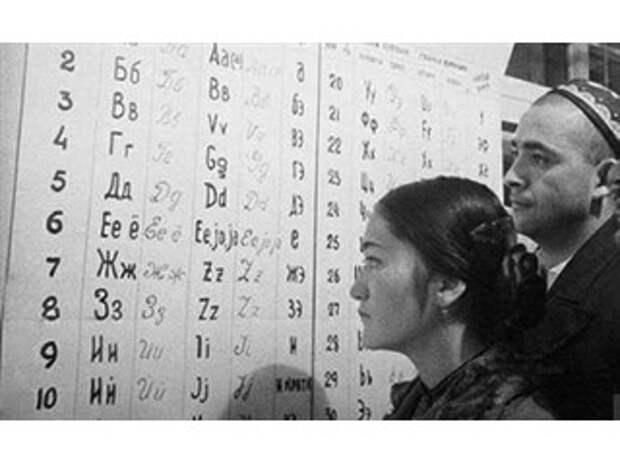 Как русский алфавит хотели заменить на латинский