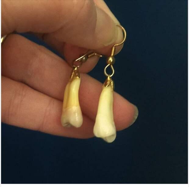 Зубные серьги