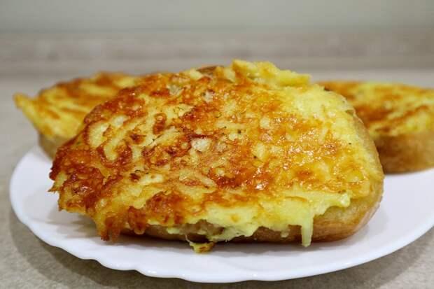 Горячие бутерброды с картофелем: готовим за 15 минут