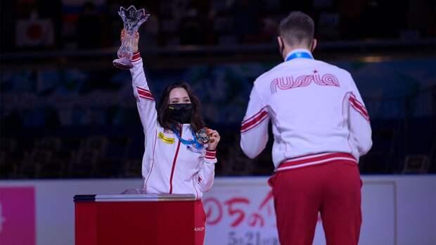 «Сегодня был великий момент для сборной России — мы слышали гимн страны». Туктамышева — о победе на командном ЧМ