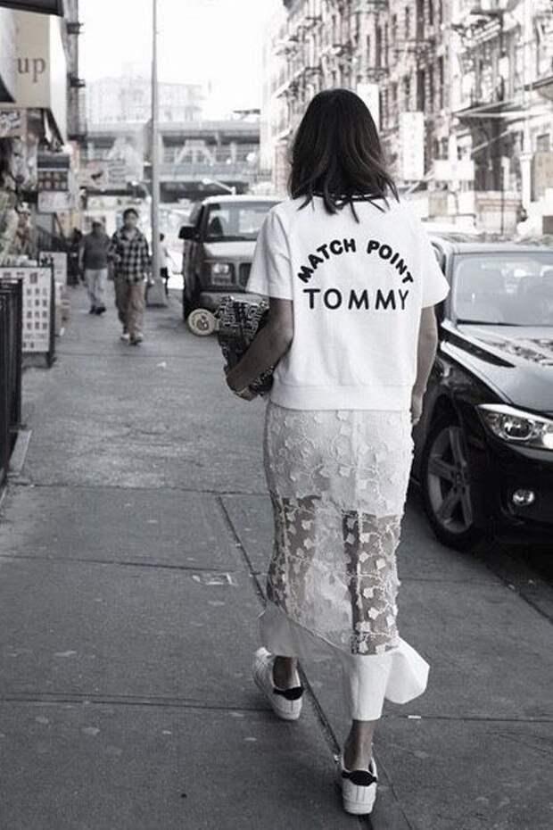 Полупрозрачная одежда — новый тренд 2021. Носи ее правильно или не надевай вообще