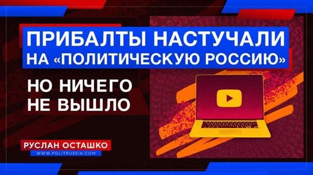 Прибалты настучали на «Политическую Россию» за материал о литовском лесе