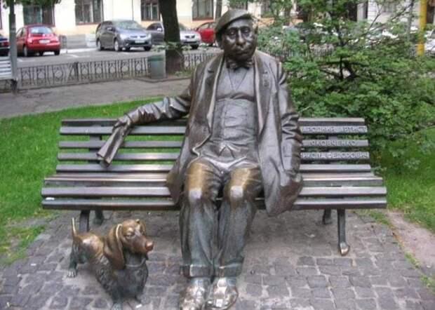 Памятник Николаю Яковченко в Киеве | Фото: kino-teatr.ru