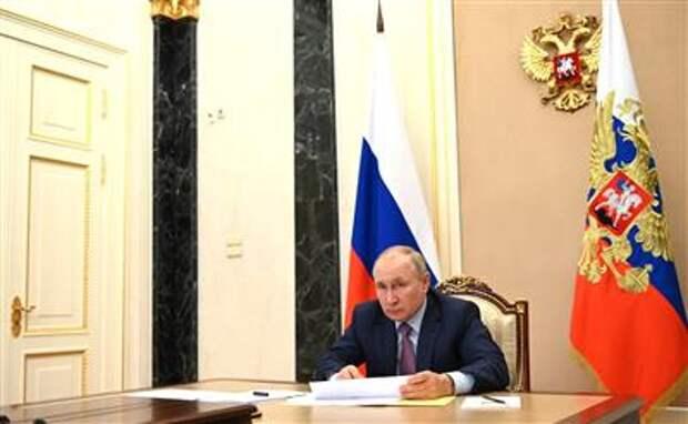 Путин поручил утвердить Единый план по достижению национальных целей