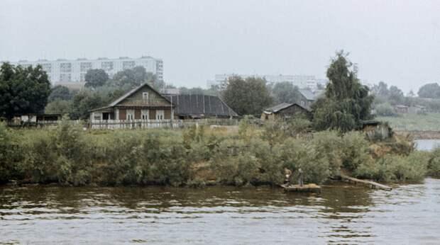 Фото дня: вид на деревню Алёшкино