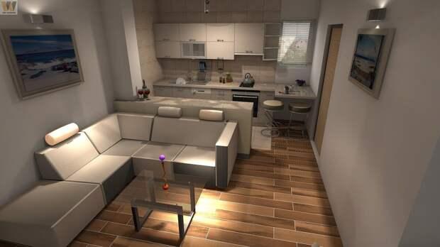 Интерьер кухни-гостиной: лучшие идеи оформления