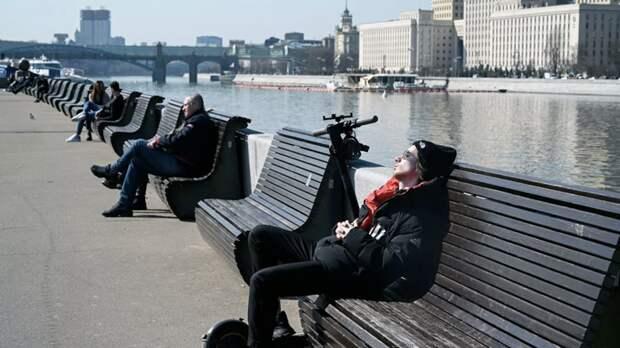 Синоптик рассказала, когда в Москву вернётся тёплая погода