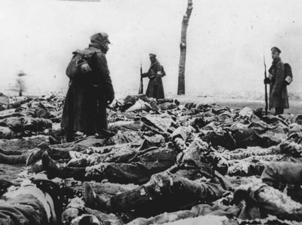 Истощение людских резервов в русской армии в 1917 г.
