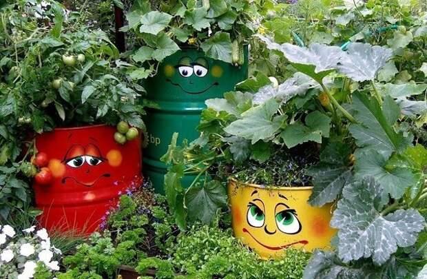 Декор для дачи и сада своими руками - Поделки