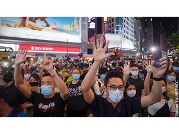 Китай и Британия поделили Гонконг