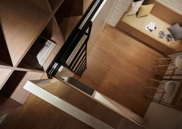 Лестница для книжных полок - просьба заказчицы дизайн, идея, квартира, комната, планировка, пространство, студия