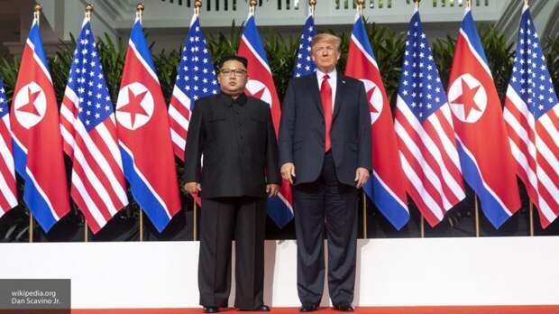 Ким Чен Ын рассердился на Трампа из-за учений Вашингтона и Сеула