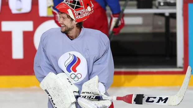 Бобровский займет место в воротах сборной России в матче против Канады на ЧМ