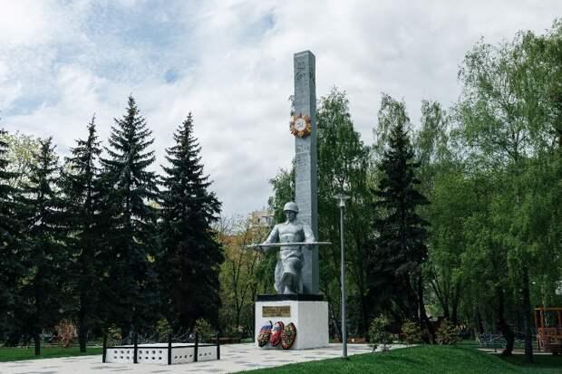 Скверу в Капотне дали имя Героев-нефтяников
