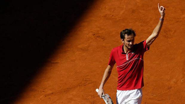 Медведев вернулся на второе место в рейтинге ATP