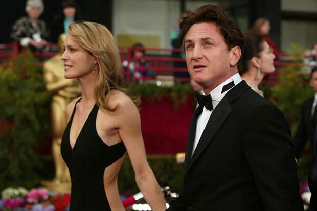 """С Шоном Пенном на """"Оскаре"""" 2004 года"""